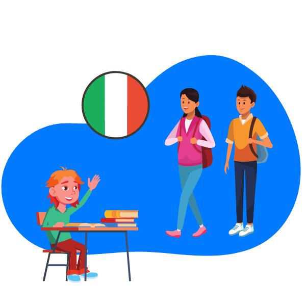 kurs italijanskog za osnovce i srednjoskolce